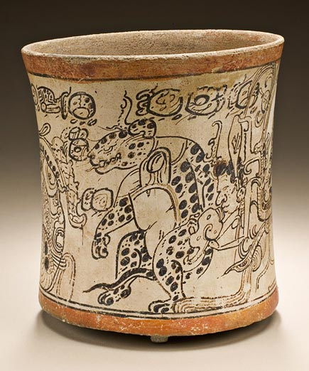 lacma drinking vessel from campeche area