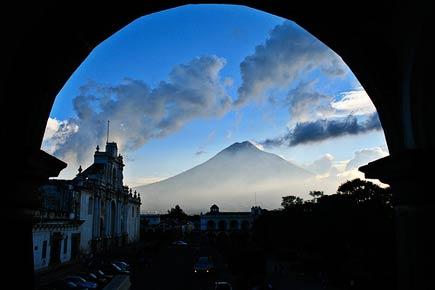 agua volcano, antigua, guatemala