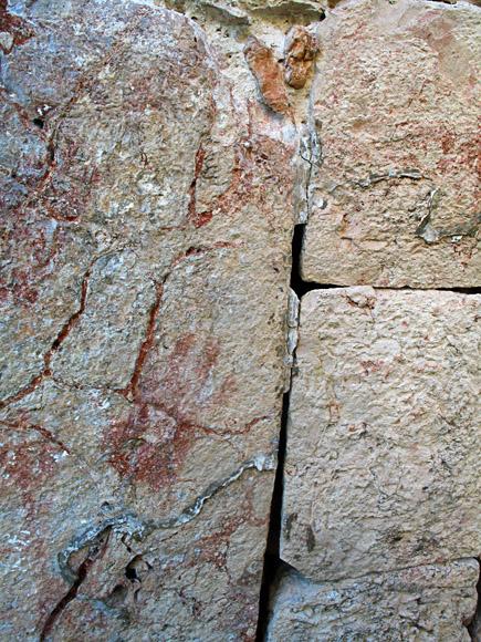 handprint at kabah
