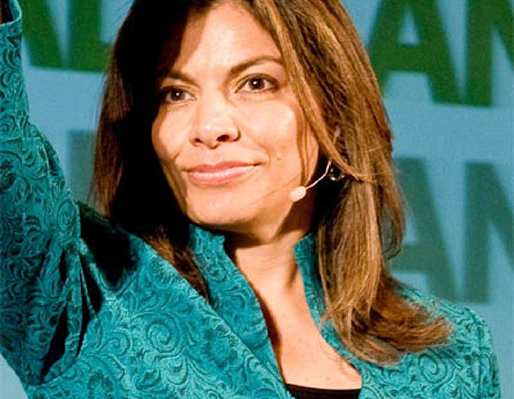 Laura Chinchilla, 46th President of Costa Rica.