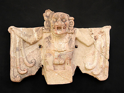 copan bat sculpture