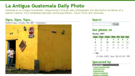 la antigua daily photo