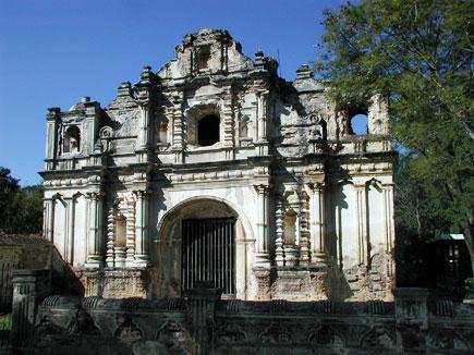 church of san jose el viejo, antigua, guatemala