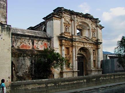 santa teresa, la antigua, guatemala