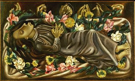juan soriano, the dead girl (1938)