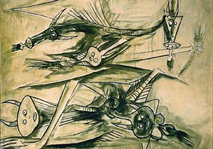 Wilfredo Lam painting