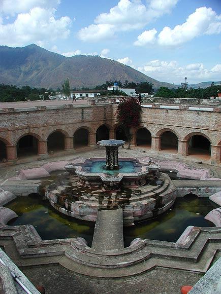 la merced fountain in antigua, guatemala, 200