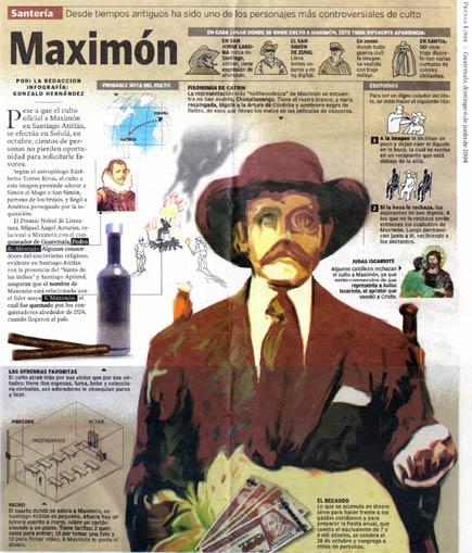 maximon graphic