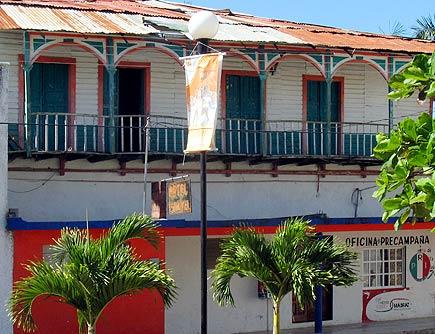 balcony at felipe carrillo puetro