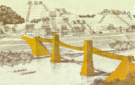 maya suspension bridge